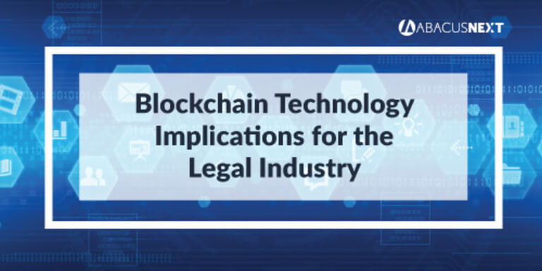 Blockchain for Legal Industry