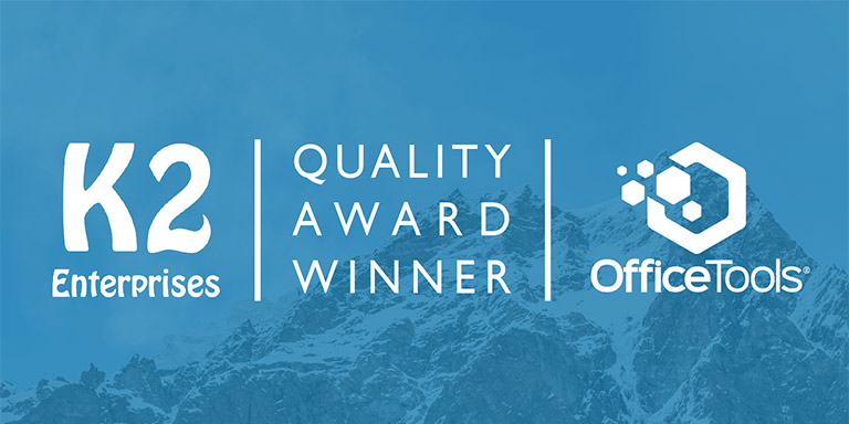 AbacusNext, OfficeTools Recognized in K2 Enterprises 18th Annual Quality Awards