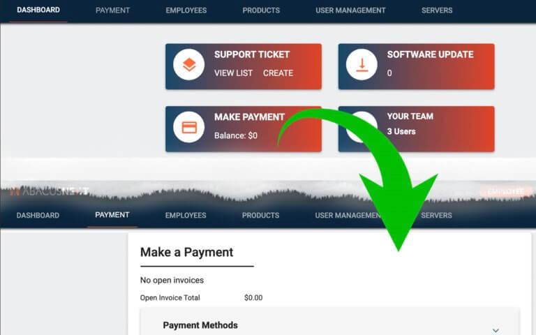 Portal billing payment update