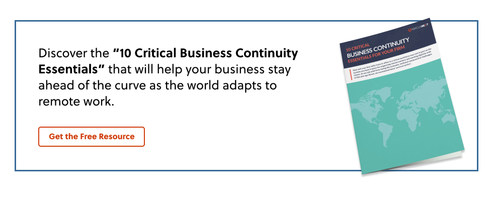 10 Critical Business Continuity Essentials
