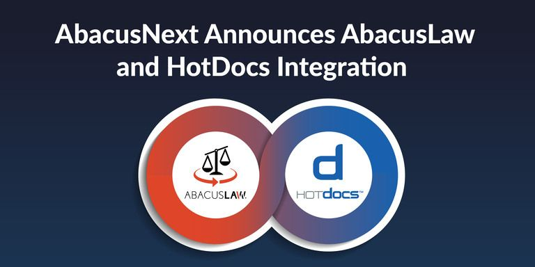 AbacusNext Announces AbacusLaw and HotDocs Integration