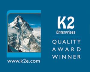 K2 Quality Award Winner